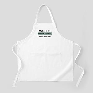 Worlds Greatest Veterinarian BBQ Apron