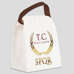 Roman Laurels Canvas Lunch Bag