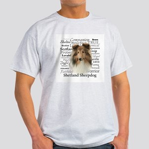 Sheltie Traits Light T-Shirt
