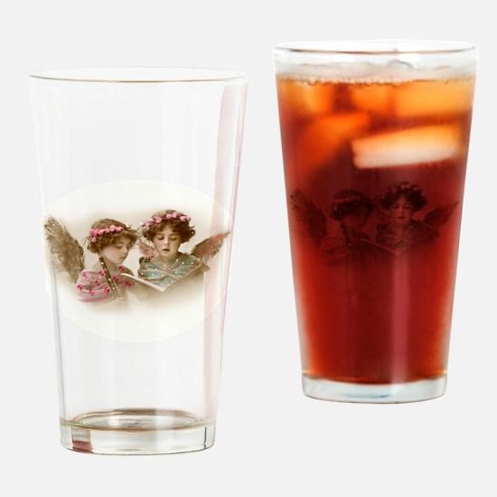 Victorian Children Drinking Glass