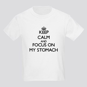 Keep Calm and focus on My Stomach T-Shirt
