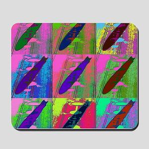 Warhol Zeppelins Mousepad