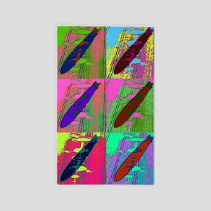 Warhol Zeppelins 3'x5' Area Rug