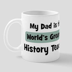 Worlds Greatest History Teach Mug