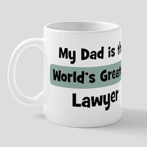 Worlds Greatest Lawyer Mug