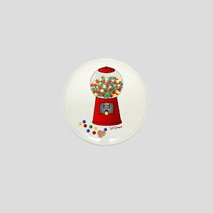 Bubble Gum Machine Mini Button