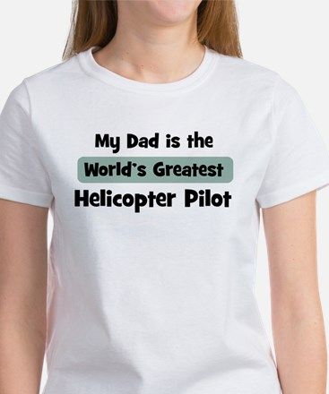 Worlds Greatest Helicopter Pi Women's T-Shirt