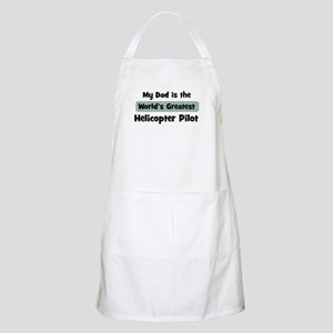 Worlds Greatest Helicopter Pi BBQ Apron