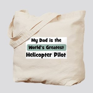 Worlds Greatest Helicopter Pi Tote Bag