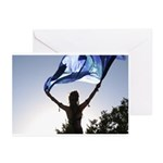 Silhouette Faizeh Greeting Cards (Pk of 10)
