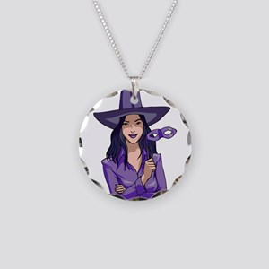 Purple Witch Necklace