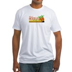 Gweru by the sea Fitted T-Shirt