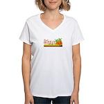Gweru by the sea Women's V-Neck T-Shirt