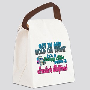 Get In & Hold on Tight Canvas Lunch Bag