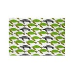 School of Sea Turtles v2sq Magnets