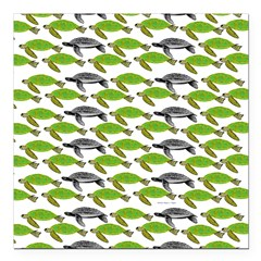 School of Sea Turtles v2sq Square Car Magnet 3