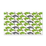 School of Sea Turtles v2sq Rectangle Car Magnet