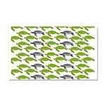 School of Sea Turtles v2sq Car Magnet 20 x 12