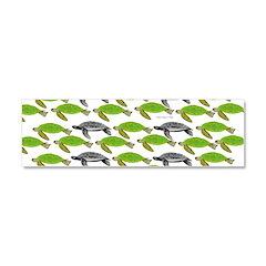 School of Sea Turtles v2sq Car Magnet 10 x 3