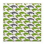 School of Sea Turtles v2sq Tile Coaster
