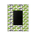 School of Sea Turtles v2sq Picture Frame