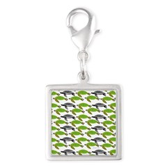 School of Sea Turtles v2sq Charms