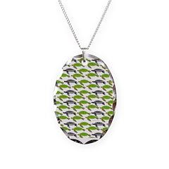 School of Sea Turtles v2sq Necklace