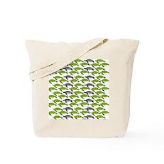 School of Sea Turtles v2sq Tote Bag