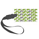 School of Sea Turtles v2sq Luggage Tag