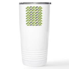 School of Sea Turtles v2sq Travel Mug