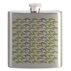 School of Sea Turtles v2sq Flask
