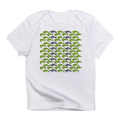 School of Sea Turtles v2sq Infant T-Shirt