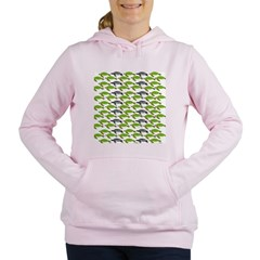 School of Sea Turtles v2sq Women's Hooded Sweatshi