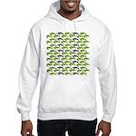 School of Sea Turtles v2sq Hoodie