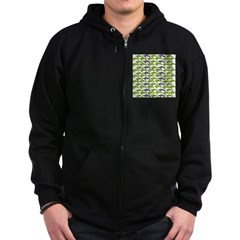 School of Sea Turtles v2sq Zip Hoodie