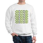 School of Sea Turtles v2sq Sweatshirt