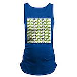 School of Sea Turtles v2sq Maternity Tank Top