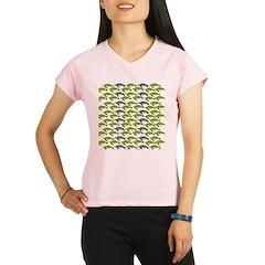 School of Sea Turtles v2sq Performance Dry T-Shirt