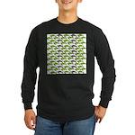 School of Sea Turtles v2sq Long Sleeve T-Shirt