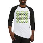 School of Sea Turtles v2sq Baseball Jersey