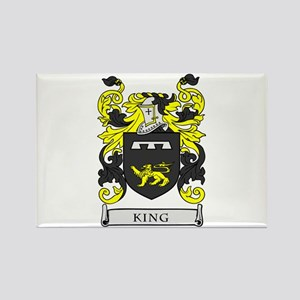 KING Coat of Arms Rectangle Magnet