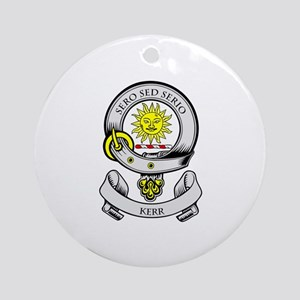 KERR 2 Coat of Arms Ornament (Round)