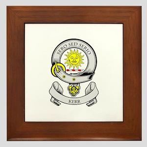 KERR 2 Coat of Arms Framed Tile