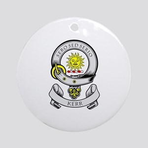 KERR 1 Coat of Arms Ornament (Round)