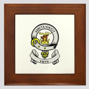 KEITH Coat of Arms Framed Tile