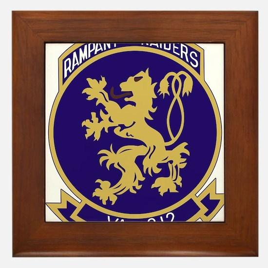VA212_rampant_raiders.png Framed Tile