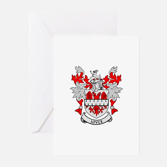 JOYCE Coat of Arms Greeting Cards (Pk of 10)
