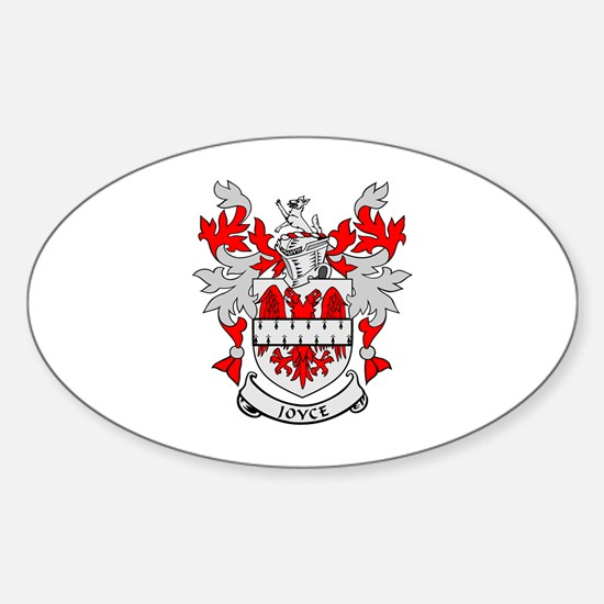 JOYCE Coat of Arms Oval Decal