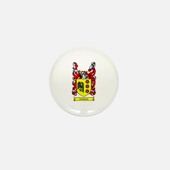 JONGEMA Coat of Arms Mini Button