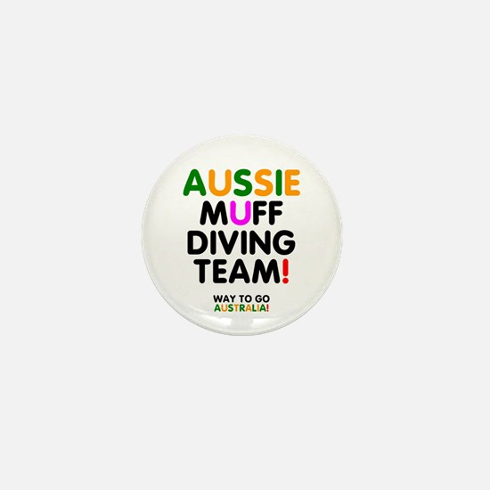 AUSSIE MUFF DIVING TEAM - WAY TO GO AUSTRALIA! - M